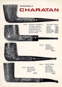 Pipe Charatan - catalogo1964