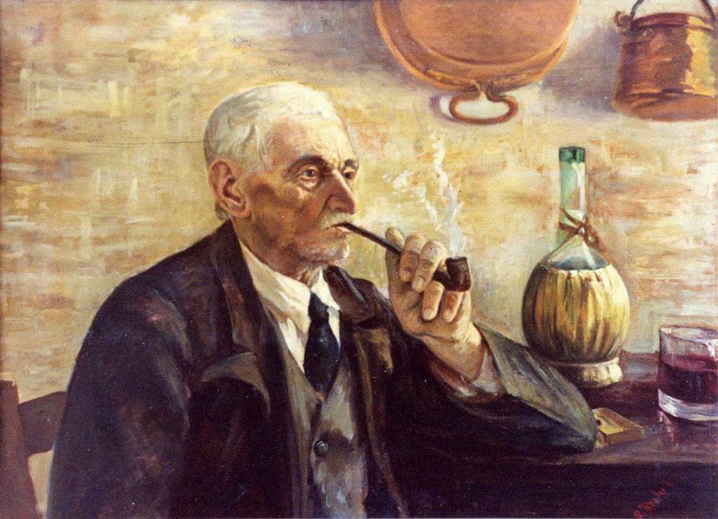 Tosches Rosa - Vecchio che fuma la pipa (Fonte: Wikipedia)